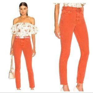 NWT GRLFRND Karolina High Waist Skinny Jeans